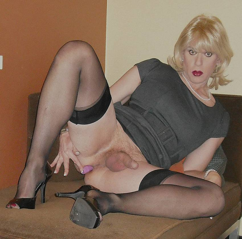 Domination cross dresser love the