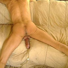 Fetish pumping.