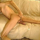 Chicks engulfing and pumping large dick.